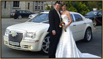 White Bentley Wedding Care Hire Louth